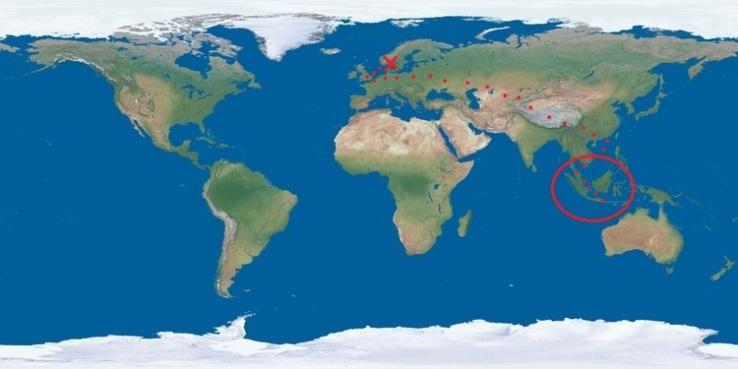 Nye opplevelser ventet på oss i Indonesia, Malaysia og Singapore. Bilde hentet fra infobilder.com.