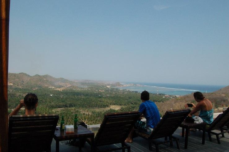 Lombok view.