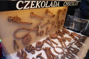 Chocolate art.