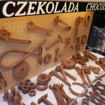 Chocolate art.