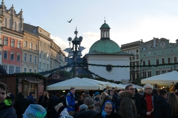 Christmas marked in Stare Miasto - the Old Town of Krakow.