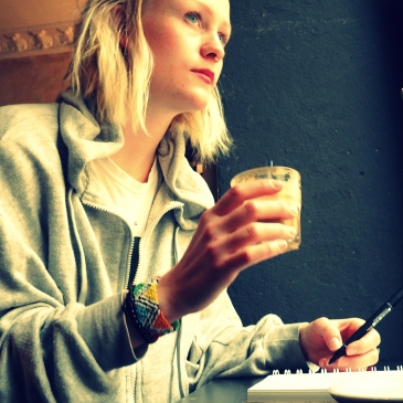 Traveling solo: you can stay at that coffee house and write for hours. Nobody thinks you're slow.