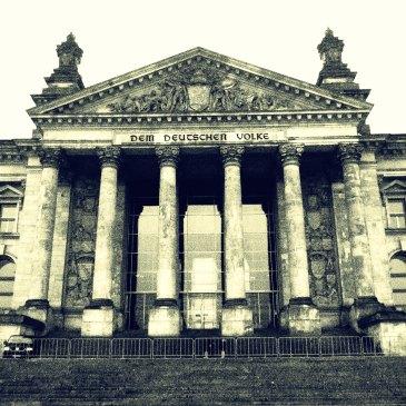 Reichstag building.