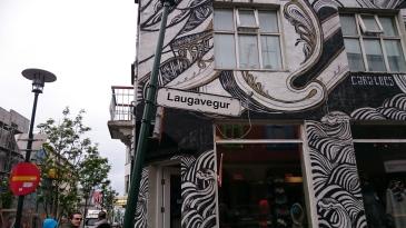 Laugarvegur, Reykjavik. Photo: Synnøve Fallmyr