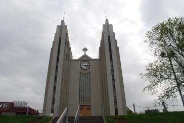 Akureyri church. Photo: Siso Castro Larsen.