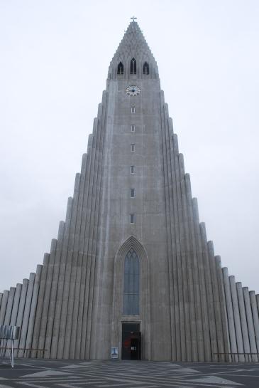 Hallgrimskirkja, Reykjavik. Photo: Siso Castro Larsen.