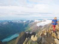 Helgelandsbukken, utsikt østover. Foto: Sofie J. Vibe