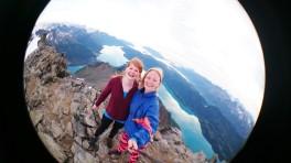 På toppen av Helgelandsbukken!