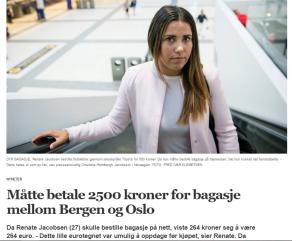 Skjermdump fra Bergens Tidene 24.8.2016