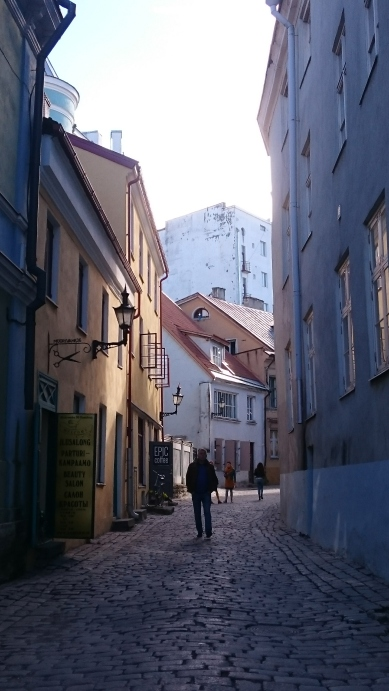 Narrow streets of the Old Town.