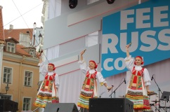 Russian dancers.