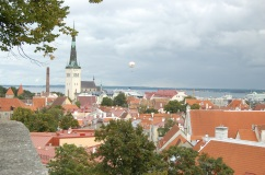 View of Tallinn's Old Town.