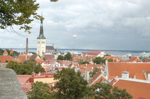 View from Toompea.