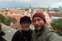 Happy tourists!