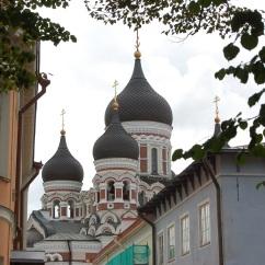 The Alexander Nevsky Cathedral.