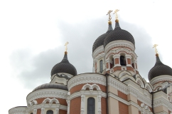 Alexander Nevsky Cathedral on the Toompea Hill.
