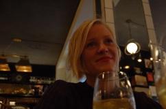 Another night at FRANK's, enjoynig Estonian cider.