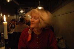På Skiffer restaurant.