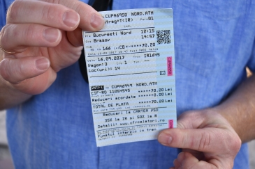 Togbilletter til Brasov!