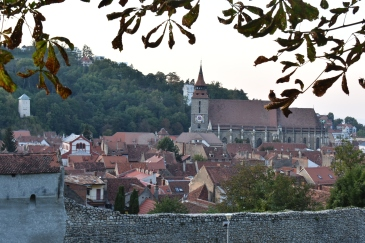 Gamlebyen og Den Sorte Kirke.