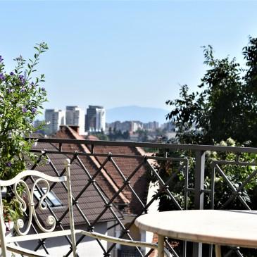 Utsikt fra Casa Cranta.