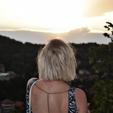 Rumensk solnedgang.