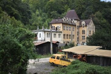 Langs toglinjen Brasov-Bucuresti...